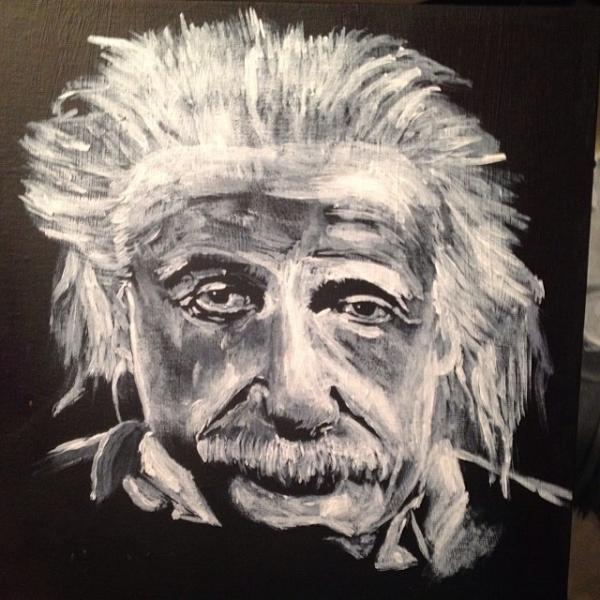 Albert Einstein par TiyBotsCreations